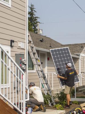 Interfaith Coatlition of Whatcom County solar install - Western Solar