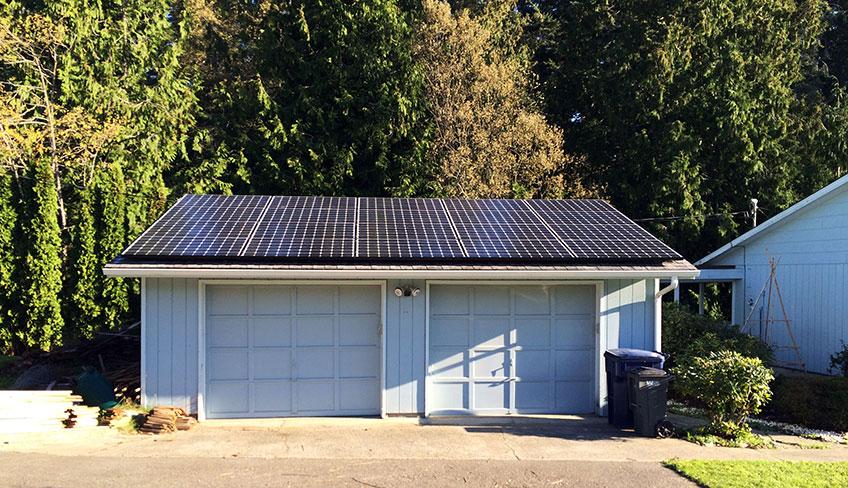 5.4 kW Solar PV System, Stanwood - Western Solar