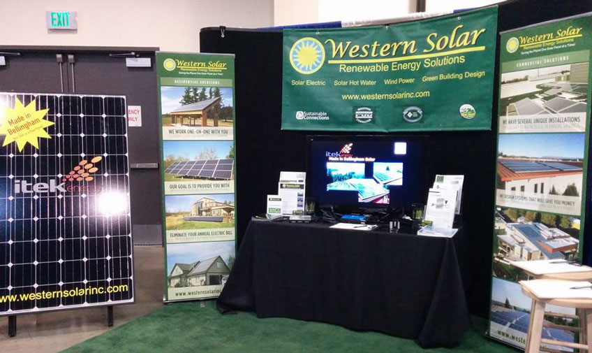 Western Solar at the Home Show
