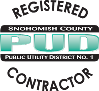Snohomish PUD Registered Contractor