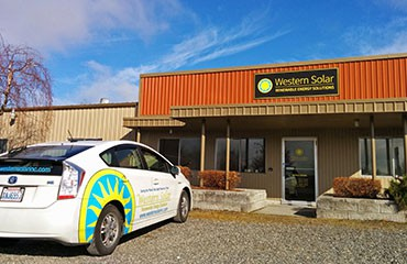 Western Solar office in North Bellingham