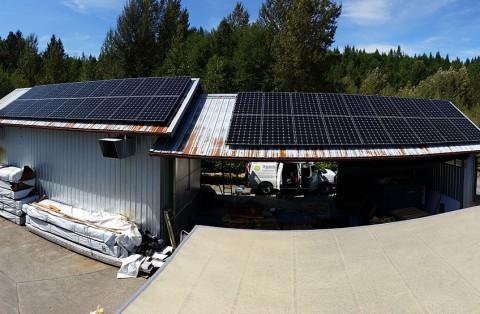 9.9 kW Solar PV System, Concrete, WA - Western Solar